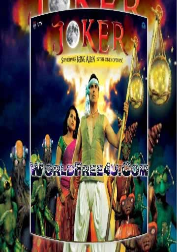 Poster Of Bollywood Movie Joker (2012) 300MB Compressed Small Size Pc Movie Free Download worldfree4u.com
