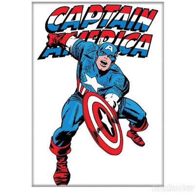 Dibujo del Capitán América por Jack Kirby