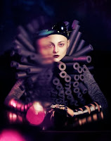 photo porodina art russe extra terrestre mode haute couture magazine
