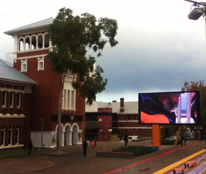 Perth's Big Screen