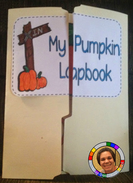 This pumpkin lapbook is great for all preschool ages.