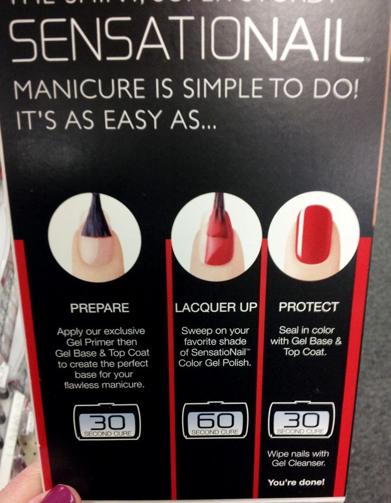 Sensational nail kit walmart
