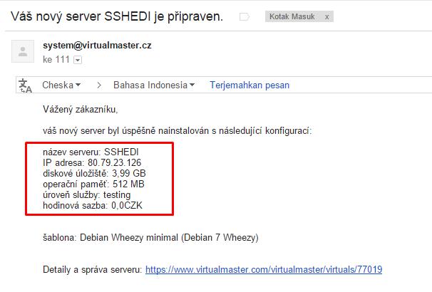 VPS Trial One day Oktober 2014 dan Cara Install Dropbear Debian 7