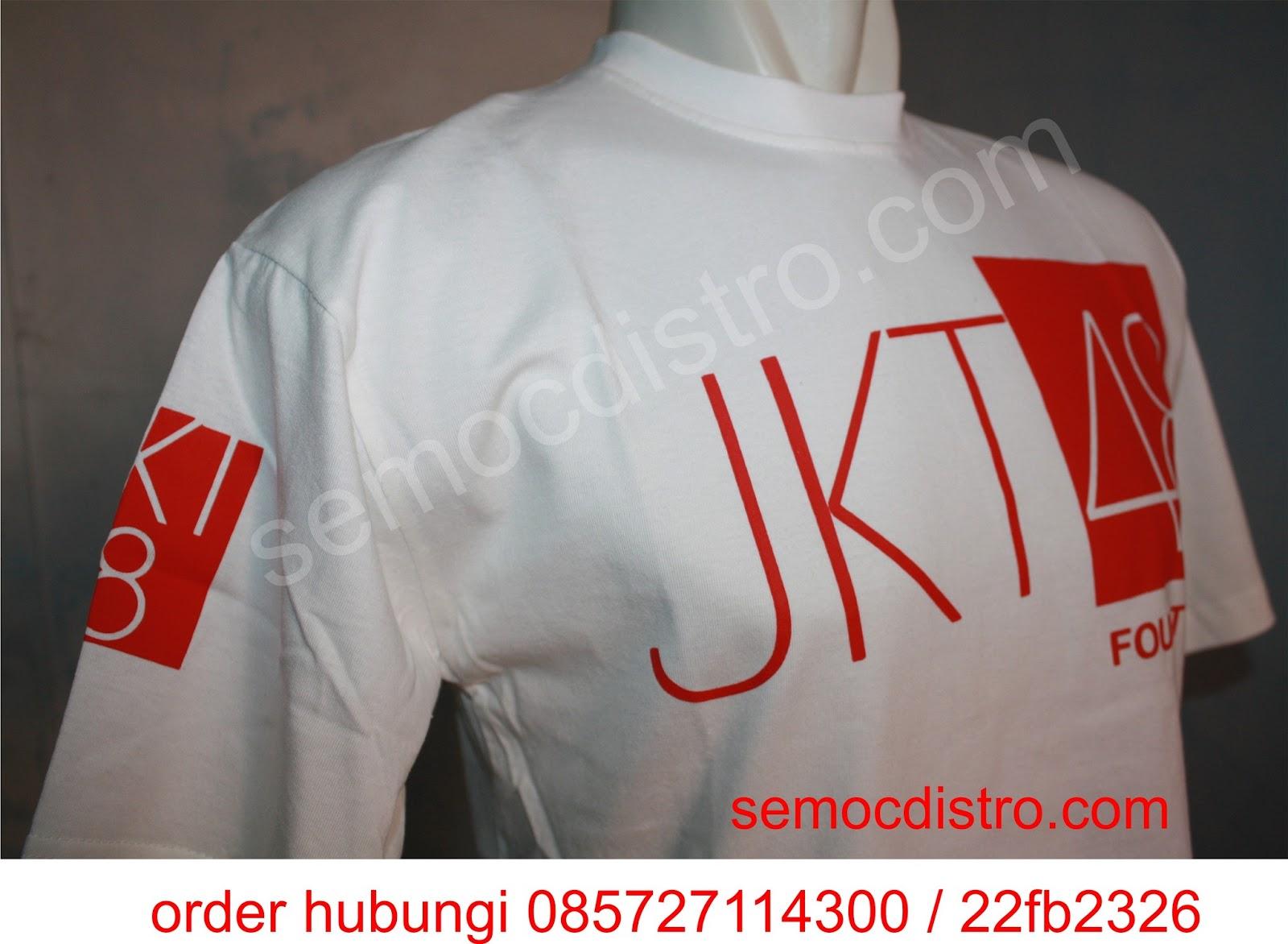 Desain t shirt jkt48 - Desain T Shirt Jkt48 T Shirt Jkt48 Putih 48