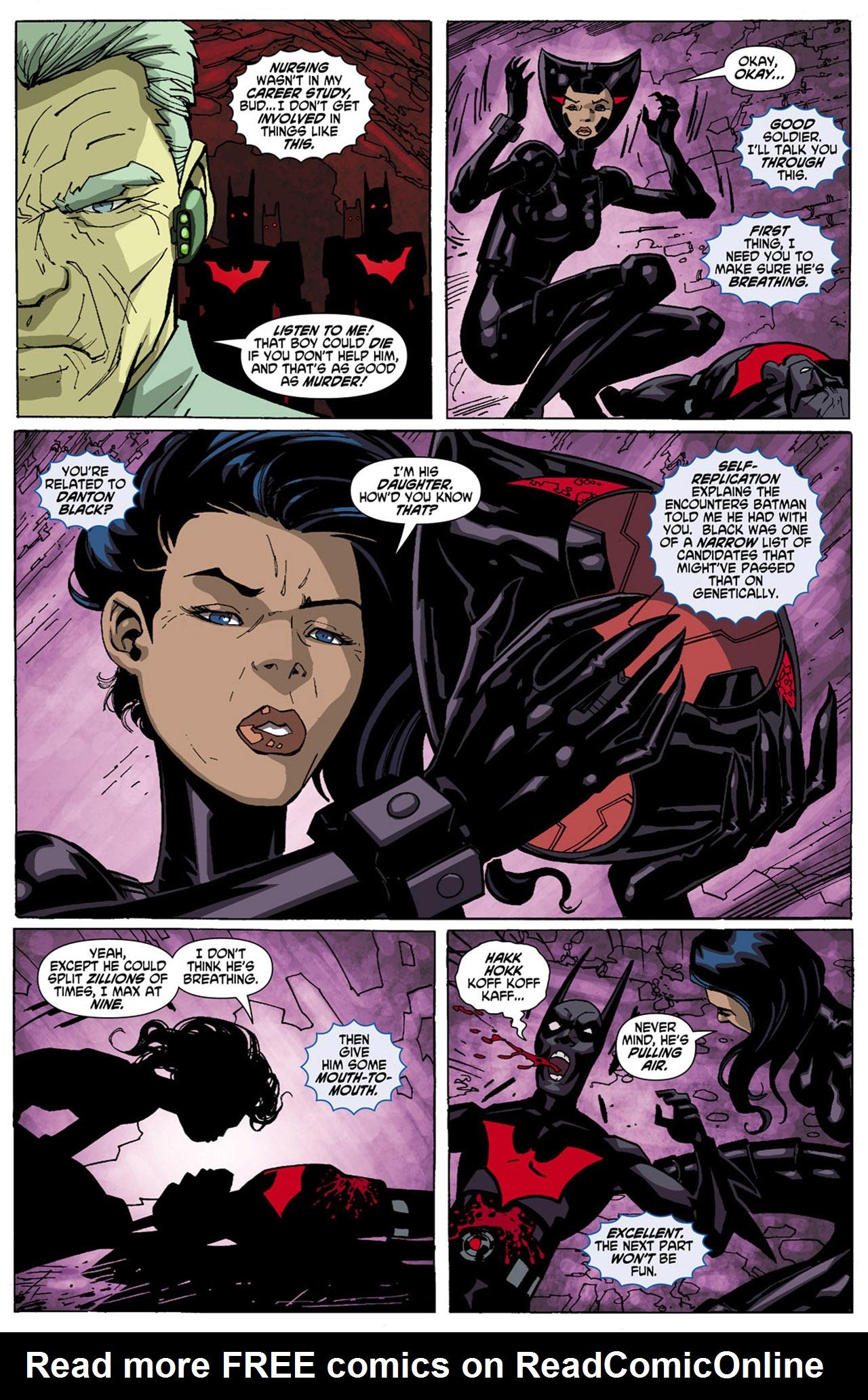Batman Beyond (2010) Issue #5 #5 - English 7