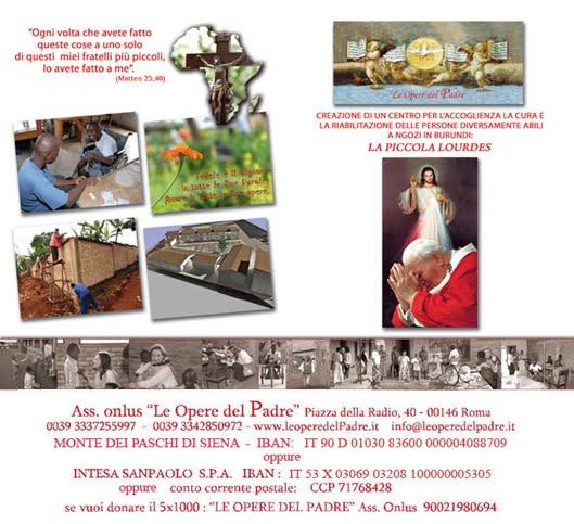 La Piccola Lourdes >LeOperedelPadre