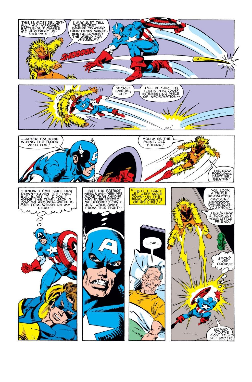 Captain America (1968) Issue #285 #201 - English 19