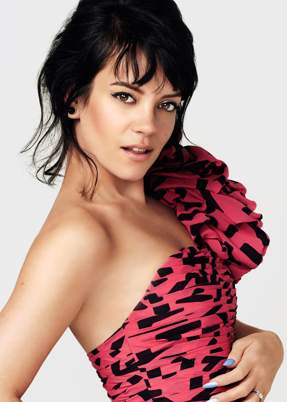 Lily Allen Damon Heath PS for Glamour UK June 2014
