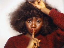 Oroma Elewa: 'Shhh.'