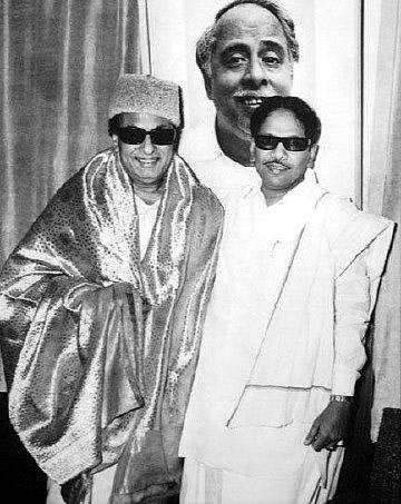 MGR & Karunanidhi 2