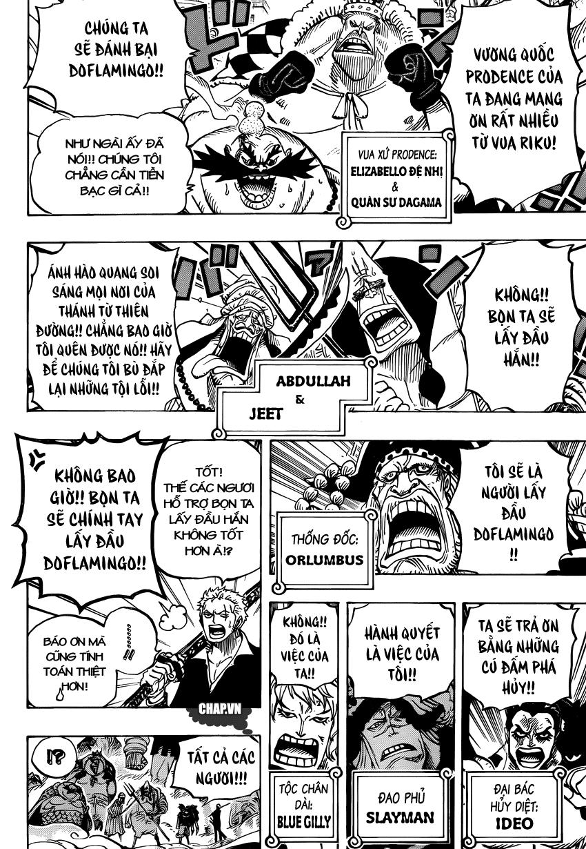 One Piece Chapter 748: Báo ơn 009