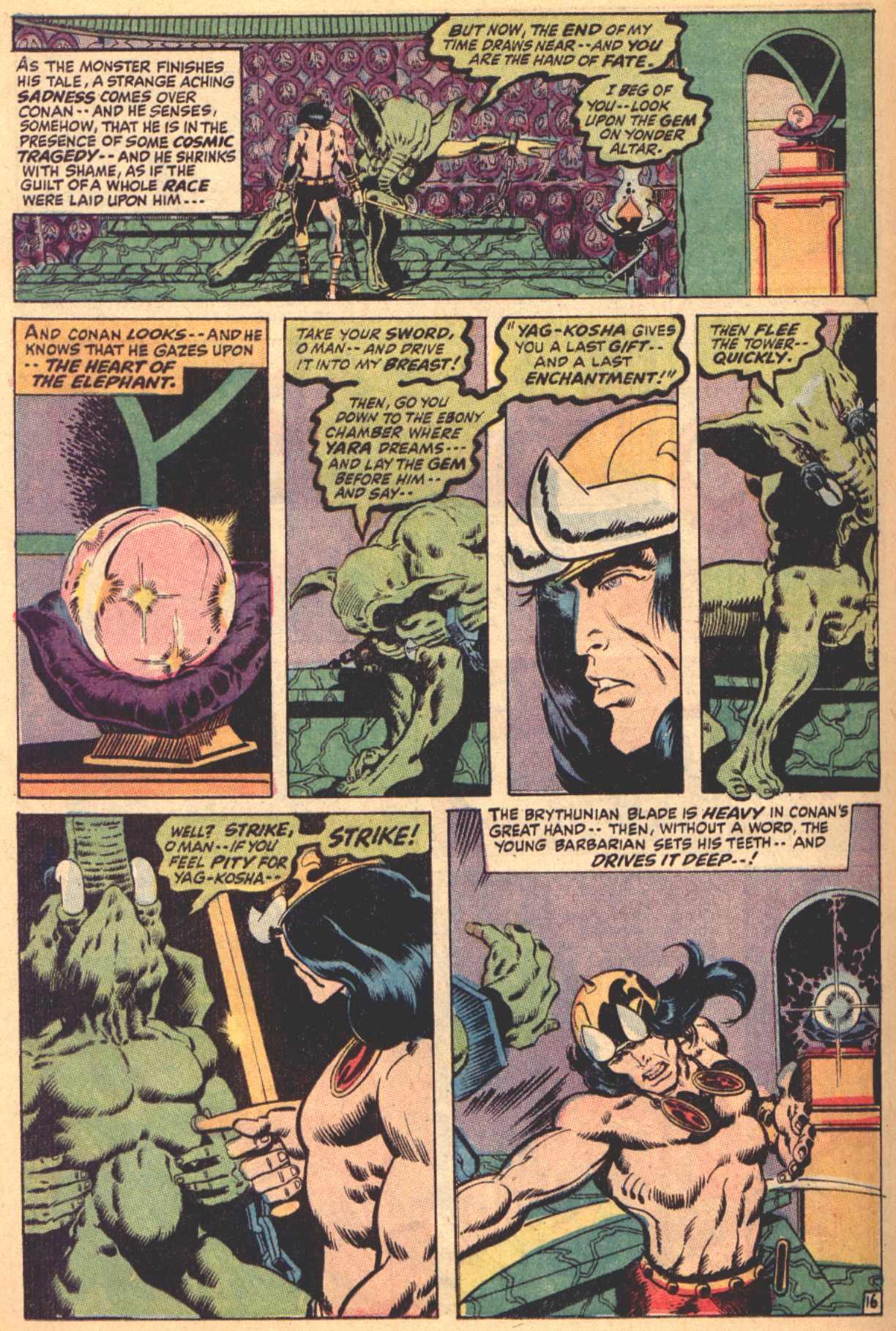 Conan the Barbarian (1970) Issue #4 #16 - English 17