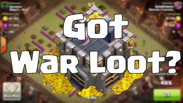 Trik Mengambil Loot Clan War COC