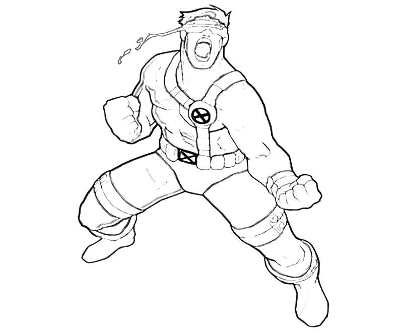 printable-x-men-cyclops-power_coloring-pages