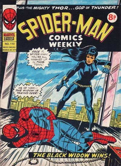 Spider-Man Comics Weekly #110, Black Widow