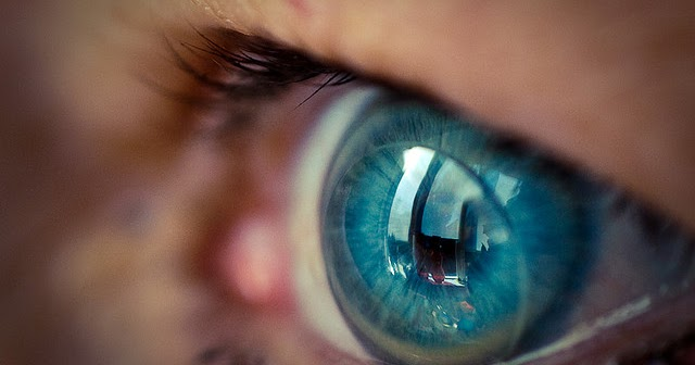 World's first telescopic contact lens with 2.8x optical zoom. Built-in camera next?