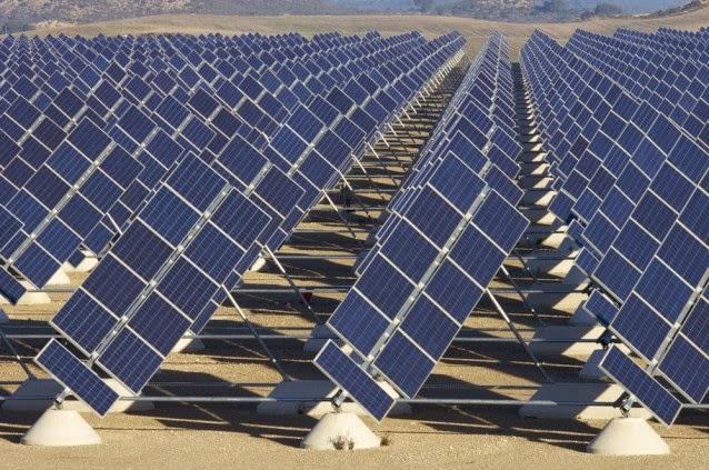 Solar farm (Credit: Shutterstock) Click to enlarge.