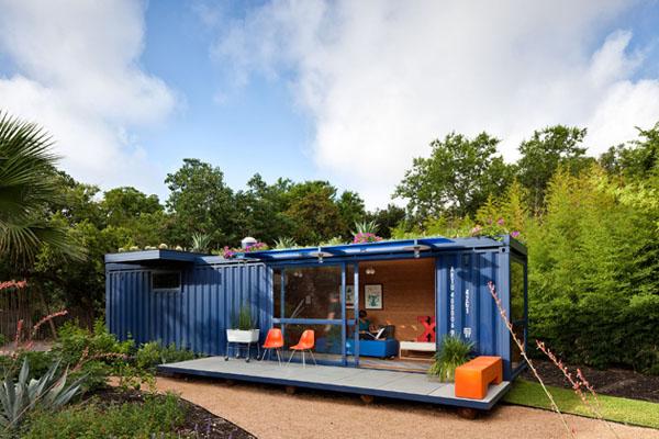 las casas construidas sobre un contenedor martimo son ecolgicas desde su nacimiento en un solo sentido el del reciclaje si el container es usado - Casa Contenedor Maritimo