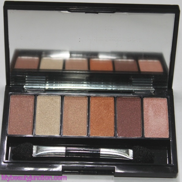 Mikyajy Coffee Eyes eyeshadow palette swatches and review