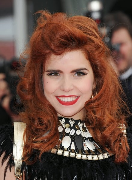 cortes de pelo rojo cobre pelo largo 2017