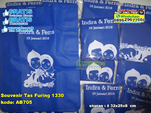 Souvenir Tas Furing 1330 murah
