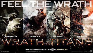 Wrath of the Titans Characters Poster HD Wallpaper