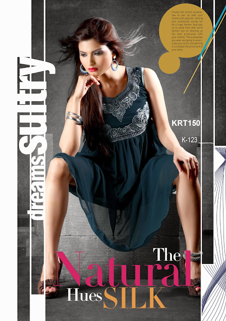 Latest Georgette Fancy Kurti – Wholesale