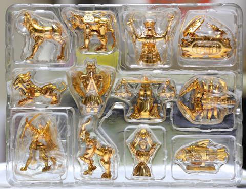 Os Cavaleiros do Zodíaco - Cavaleiros de Ouro