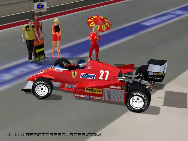 Ferrari 1983 rFactor F1 mod