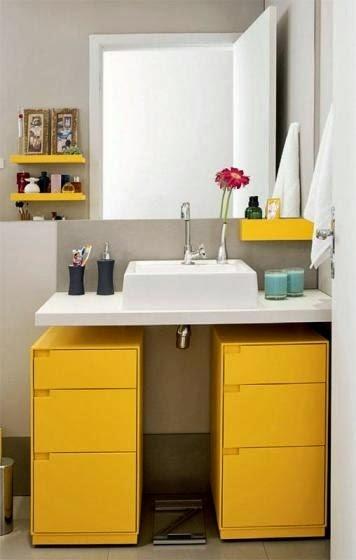 decoracao banheiro diy:DIY Decoração: Banheiros e lavabos