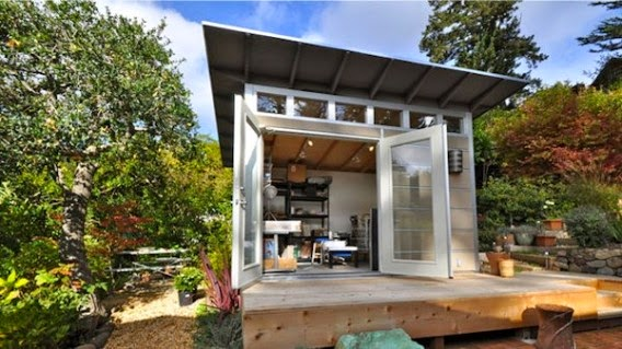 11 reasons to turn a shed into living space