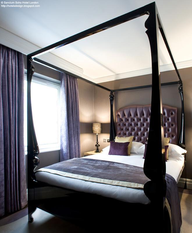 Les plus beaux hotels design du monde sanctum soho hotel - Les plus beaux lits ...