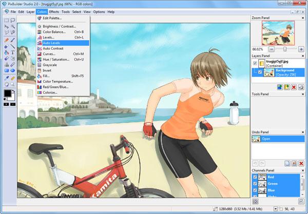 Aplikasi Edit Foto WnSoft PixBuilder Studio