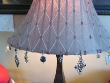 Earring adornments for your lamp