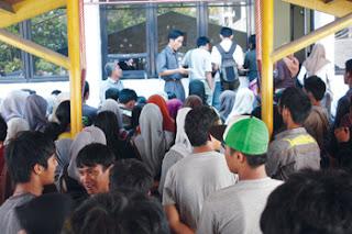 Pembelian PIN dan KAP SNMPTN di Padang