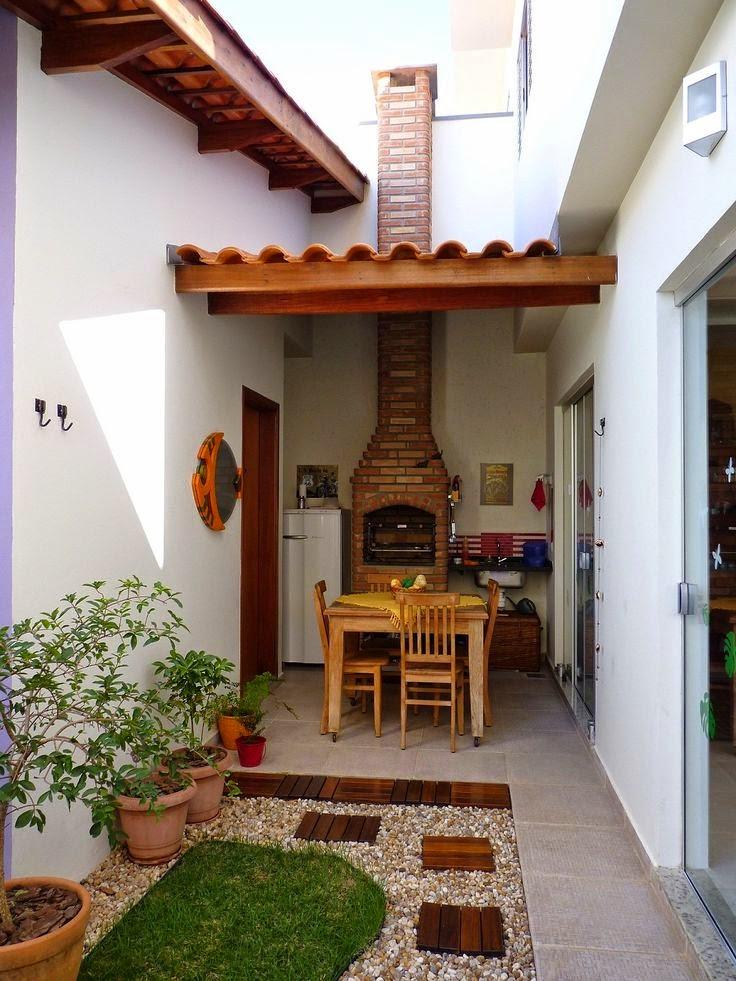 blog de decoração  Arquitrecos Quintais pequenos Lazer para todas