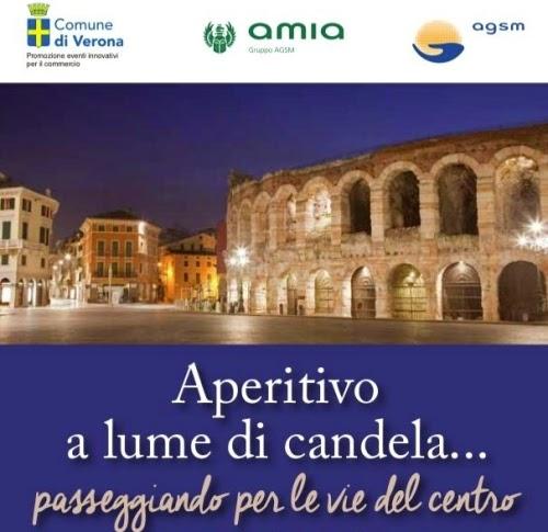 Aperitivo a Lume di Candela 7 Novembre Verona