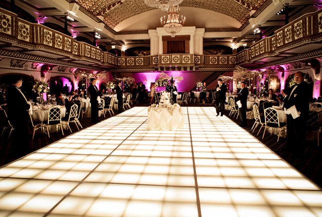 white smile wedding dance floor ideas