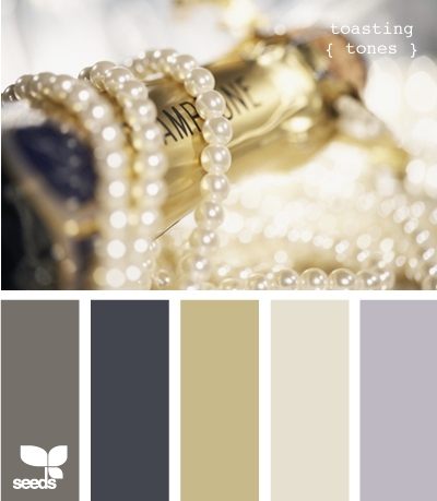 Color palettes design seeds color schemes toast tones - Gold and silver color scheme ...