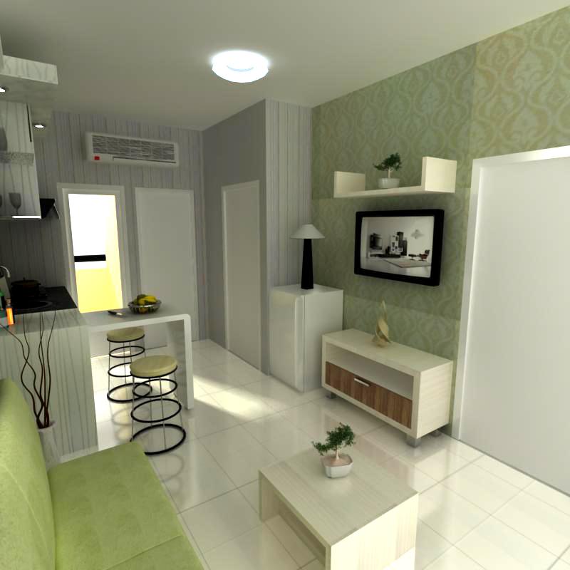 Djaya dwipa furniture paket interior apartemen ruang for Interior apartemen studio