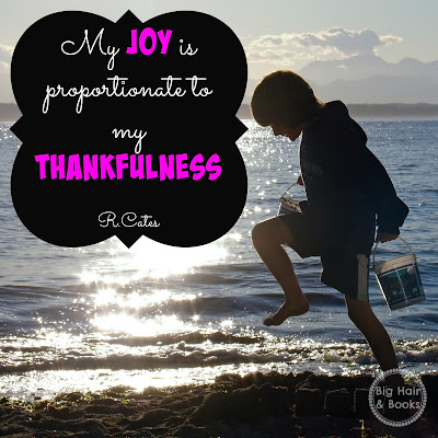 Joy & Thankfulness Quote