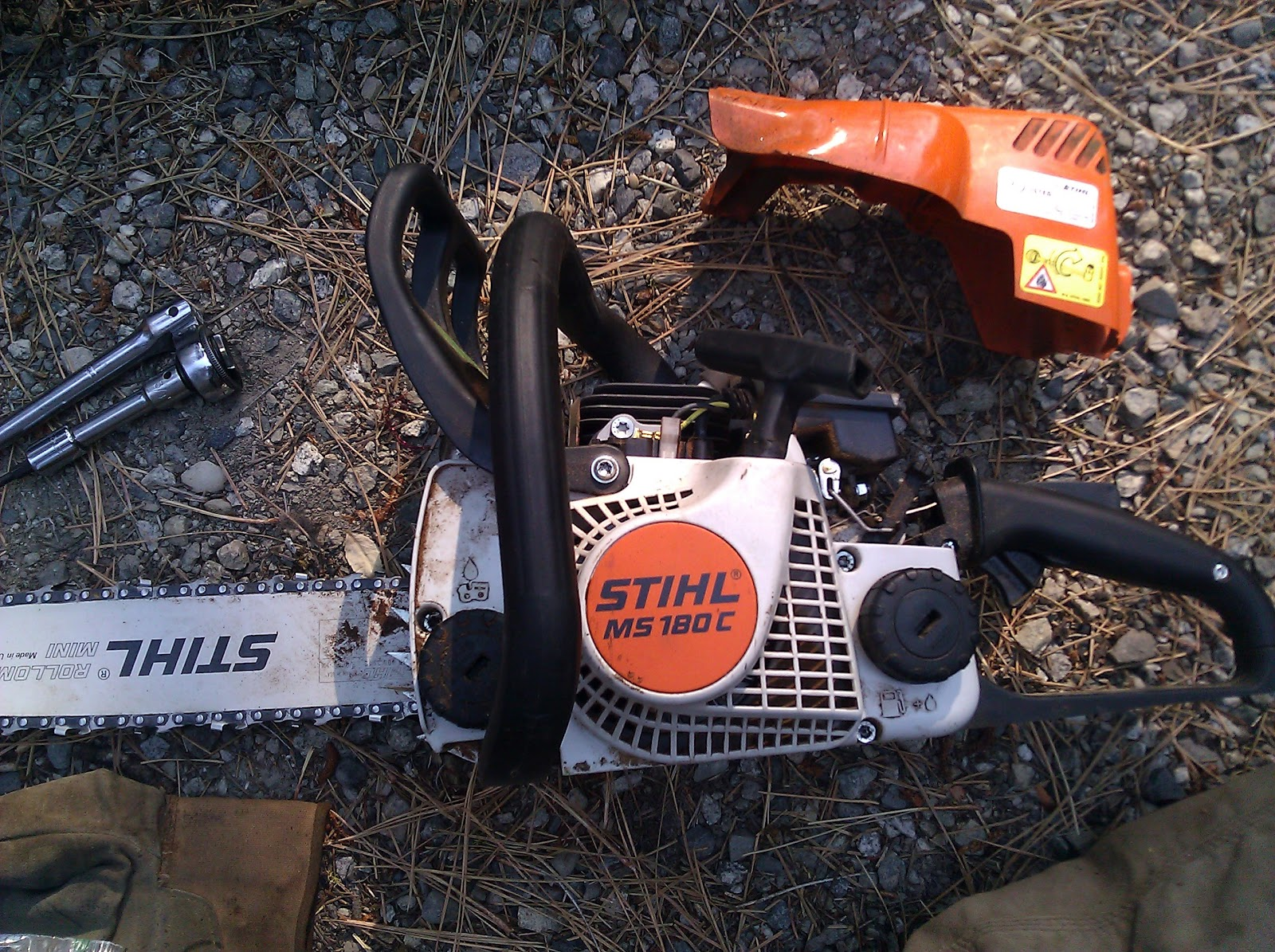 Small forest timber owner blog for wa starter assembly service on the stihl easy2start saws like our ms 180c have thin pull ropes if you have one of these saws here are step by step instructions for how to replace the keyboard keysfo Images