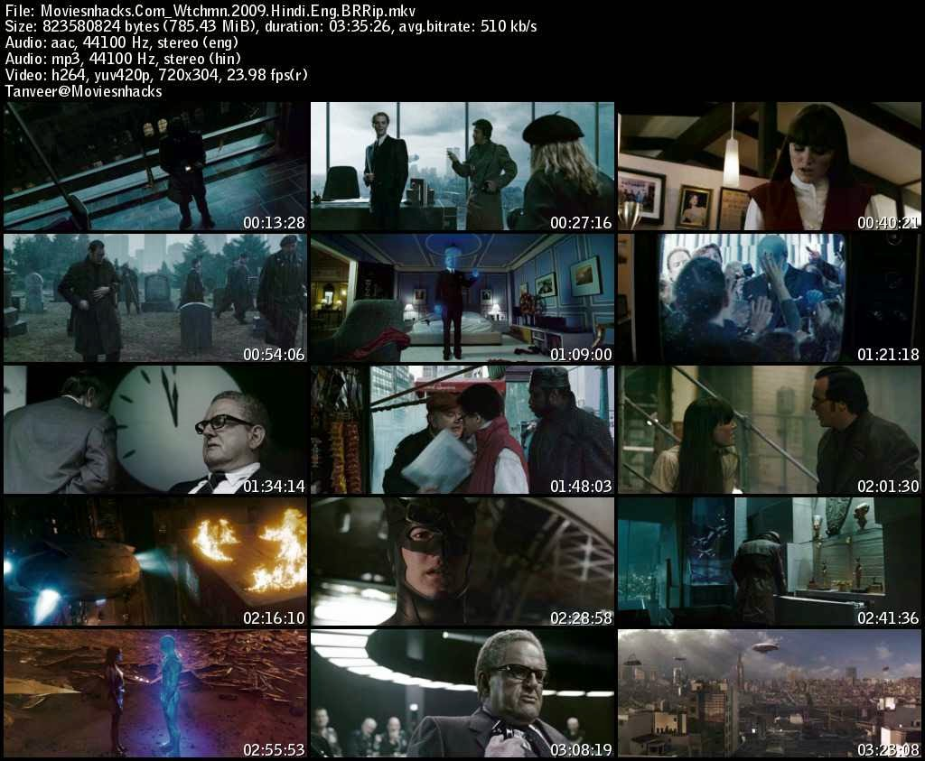 Watchmen (2009) Hindi Dual BRRip
