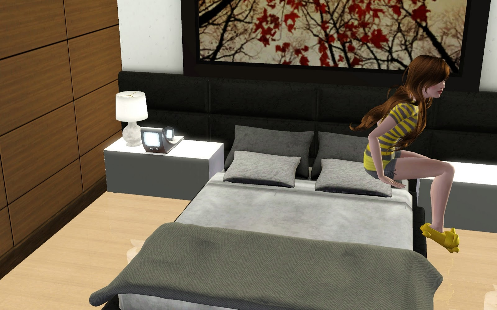My sim recently started dating an egyptian explorer she met while adventuring in china after her return home she invited him over and they decided to move