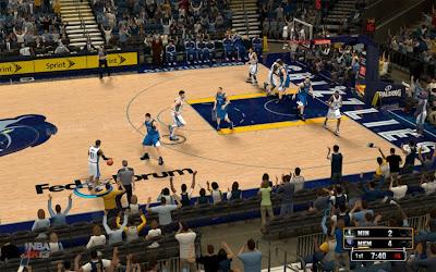 NBA 2K13 Memphis Grizzlies Court Patch Update