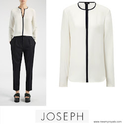Princess Mary Style JOSEPH Blouse and RUPERT SANDERSON Pumps