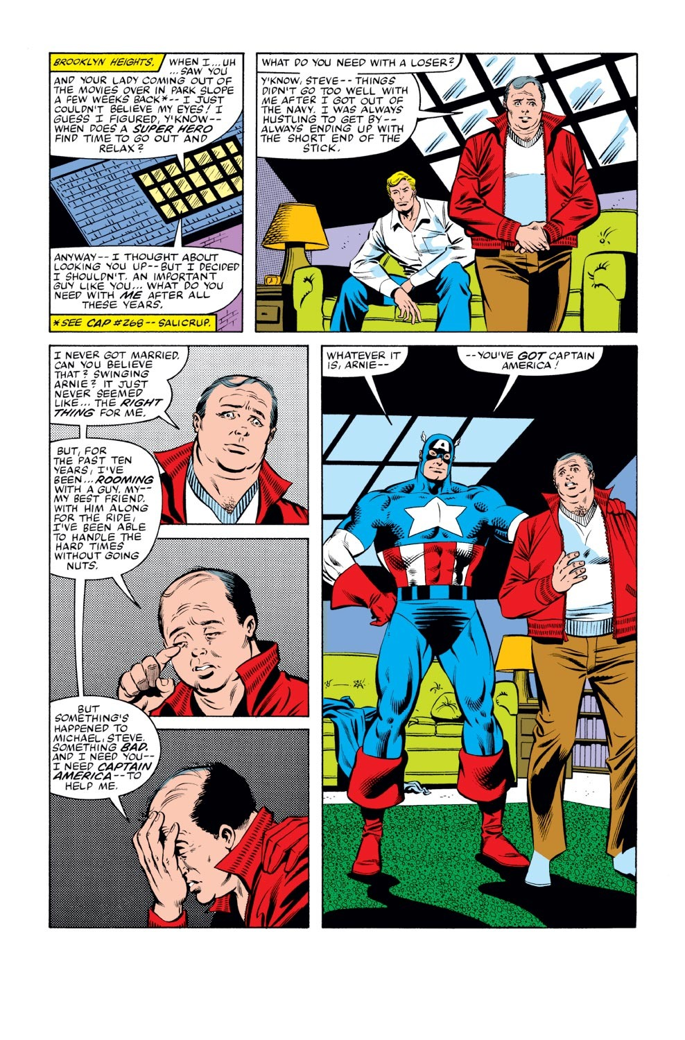 Captain America (1968) Issue #270 #186 - English 9