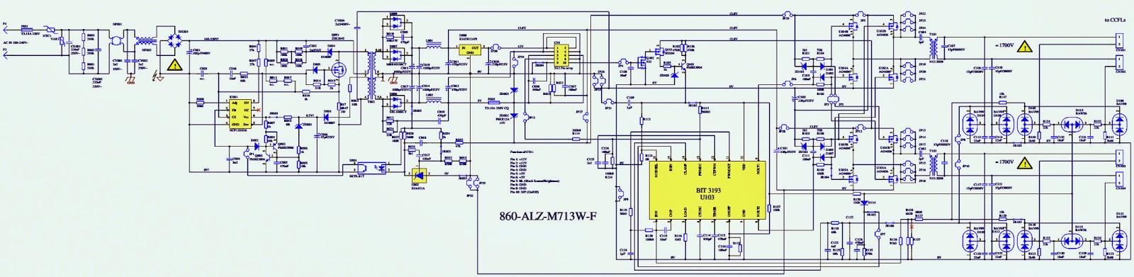 860-alz-m713w-f схема