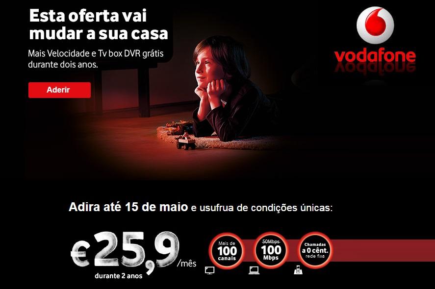 Vodafone duplica velocidade de internet para os 100mbps aberto at de madrugada - Internet en casa de vodafone ...