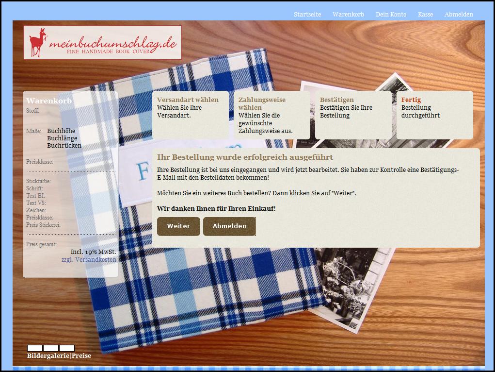 Produkttest] Ein eigener individueller Buchumschlag von ...